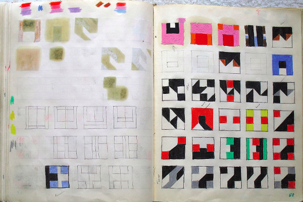 frederick hammersley sketchbook 2