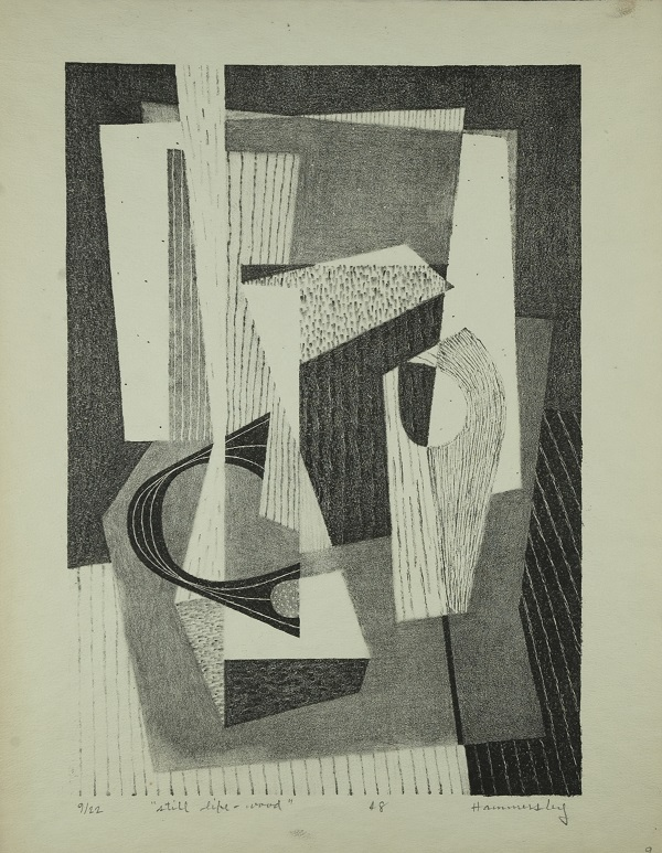 frederick hammersley still life with wood